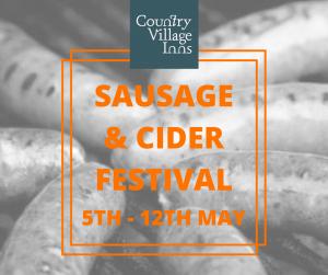 Sausage & Cider Festival @ The Wheatsheaf